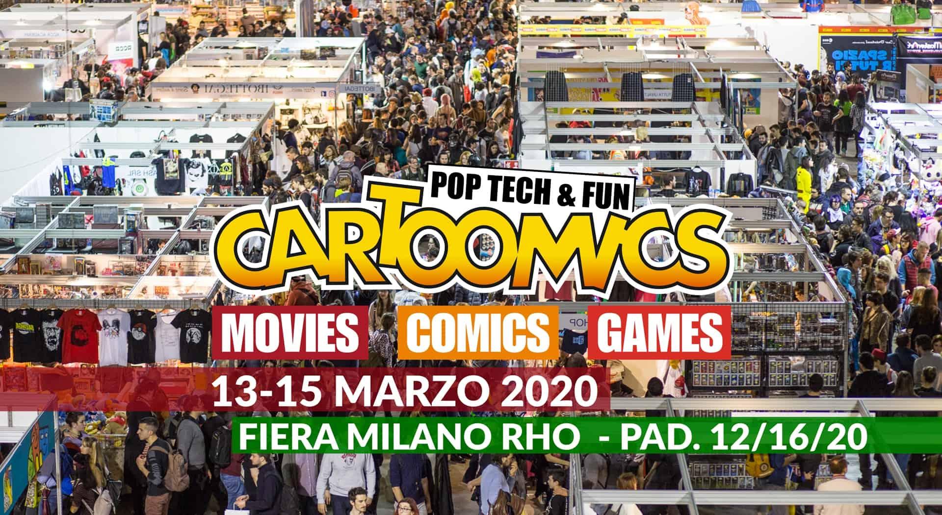 Cartoomics – la fiera milanese del fumetto