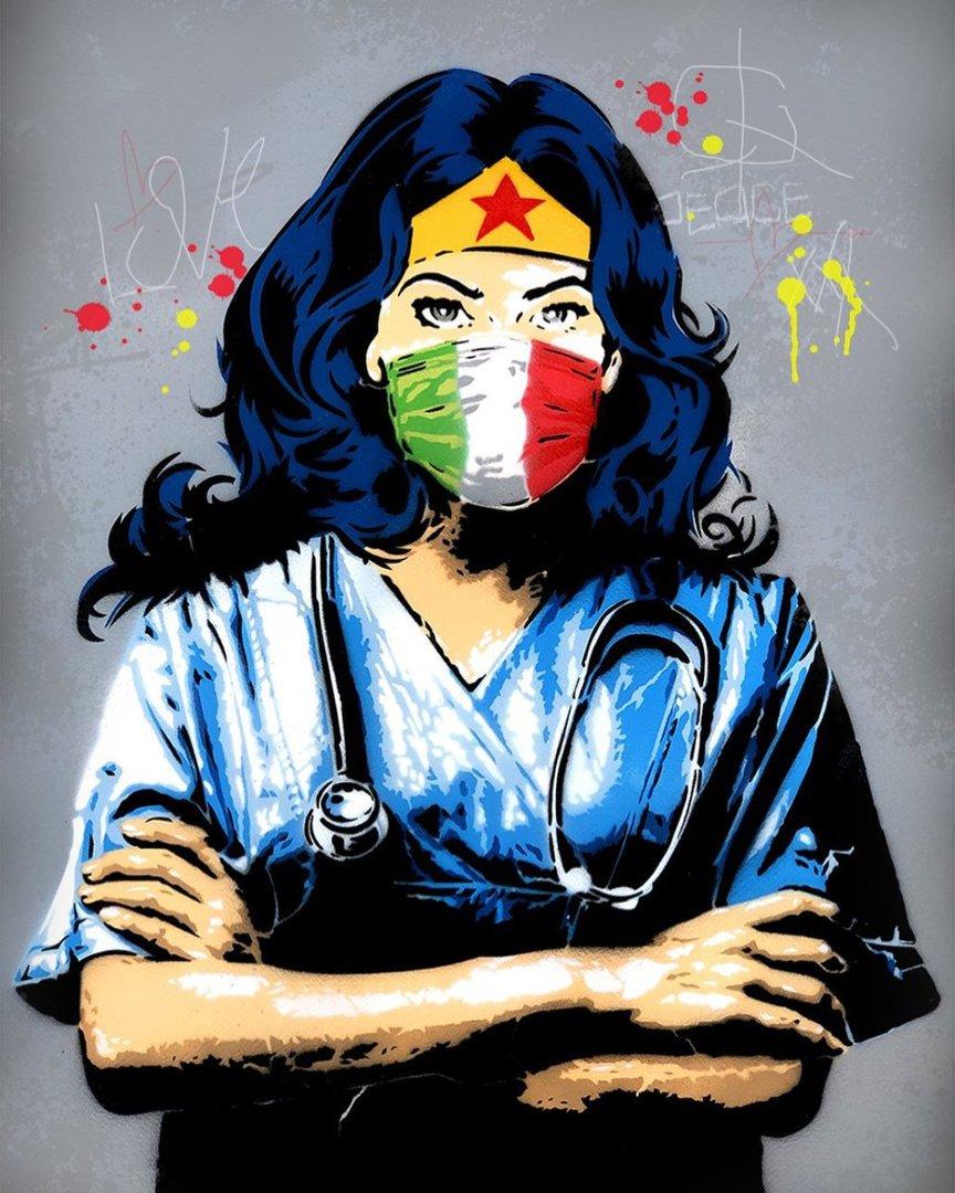 Street Art al tempo del Coronavirus in Italia