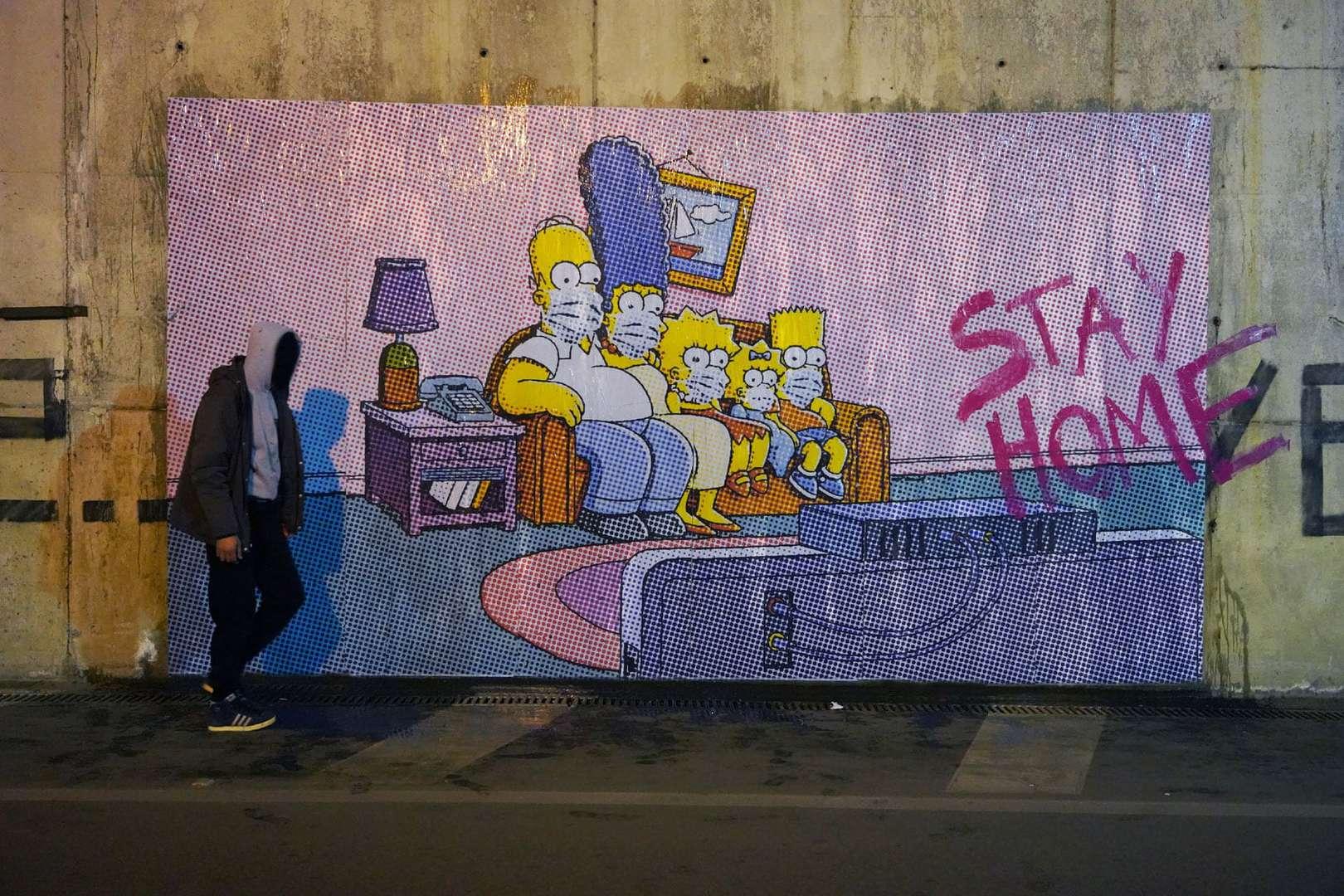 street art coronavirus