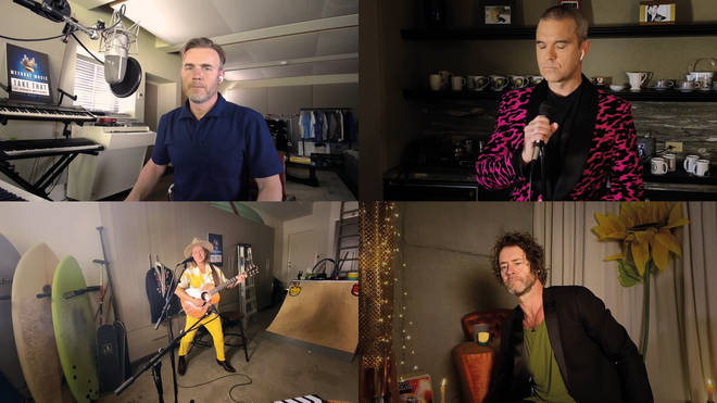 Concerto Take That & Robbie Williams