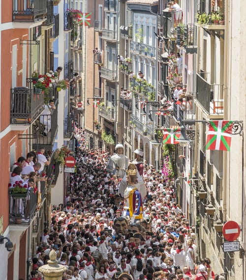 La Festa di San Firmino a Pamplona
