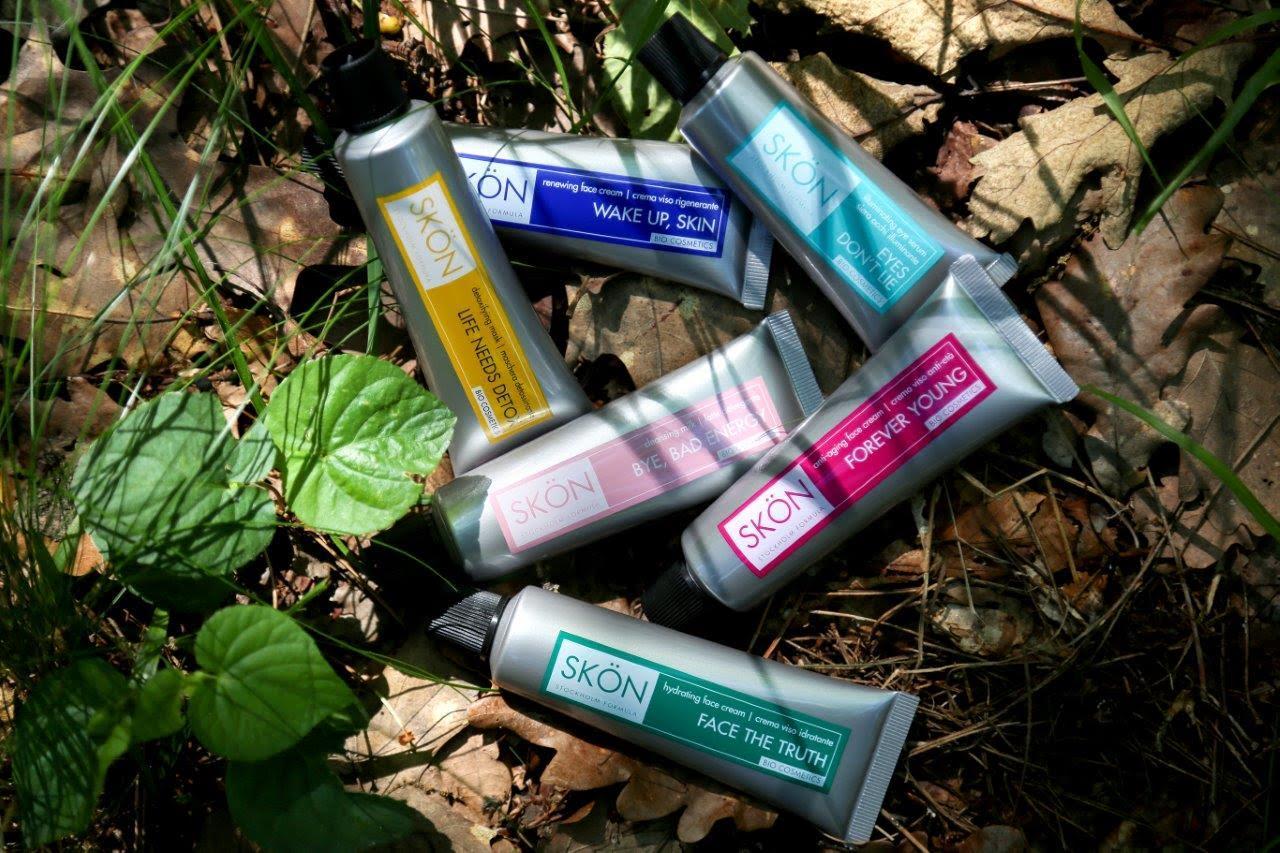 SKÖN, la nuova linea cosmetica bio