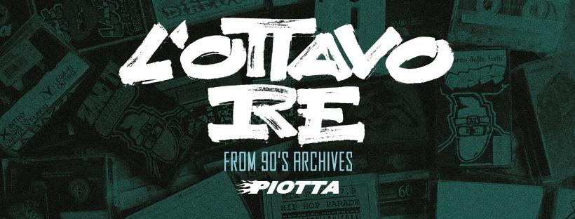 """Piotta , il nuovo album:""""L'Ottavo Re"""""""