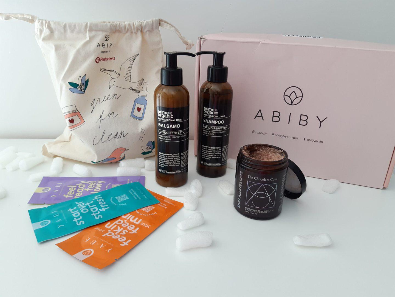Abiby la beauty box di giugno