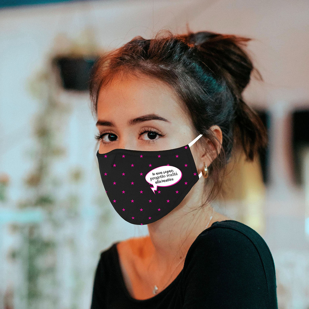 Le mascherine griffate