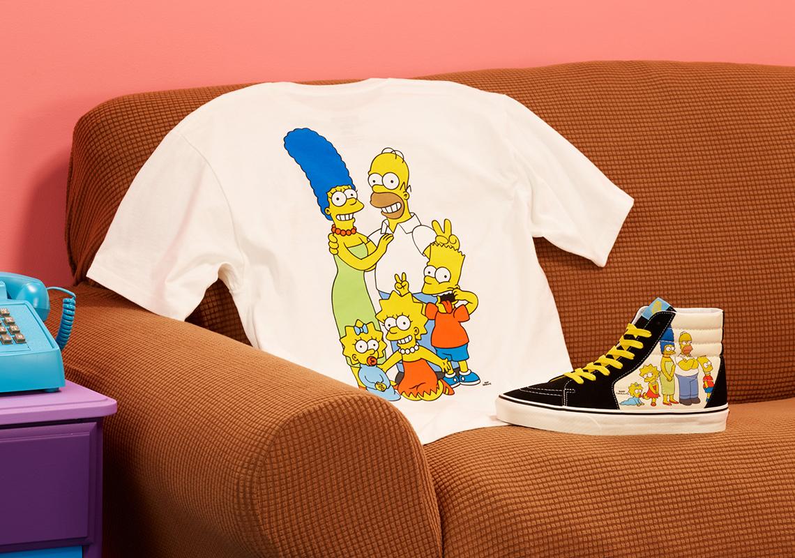 Simpson x Vans