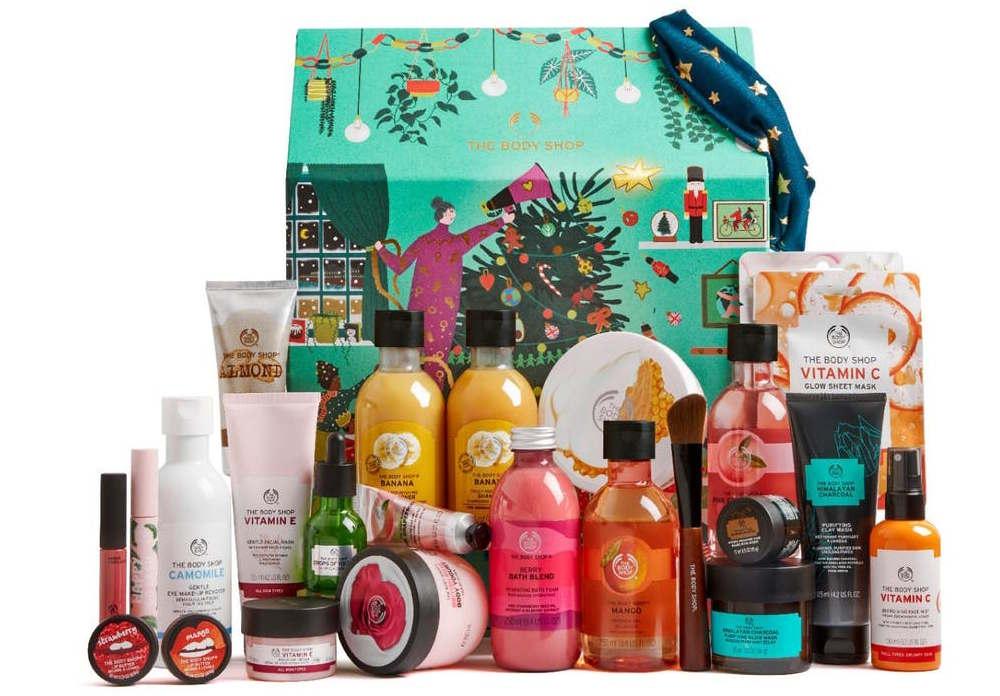 Calendario Avvento The Body Shop Natale 2020