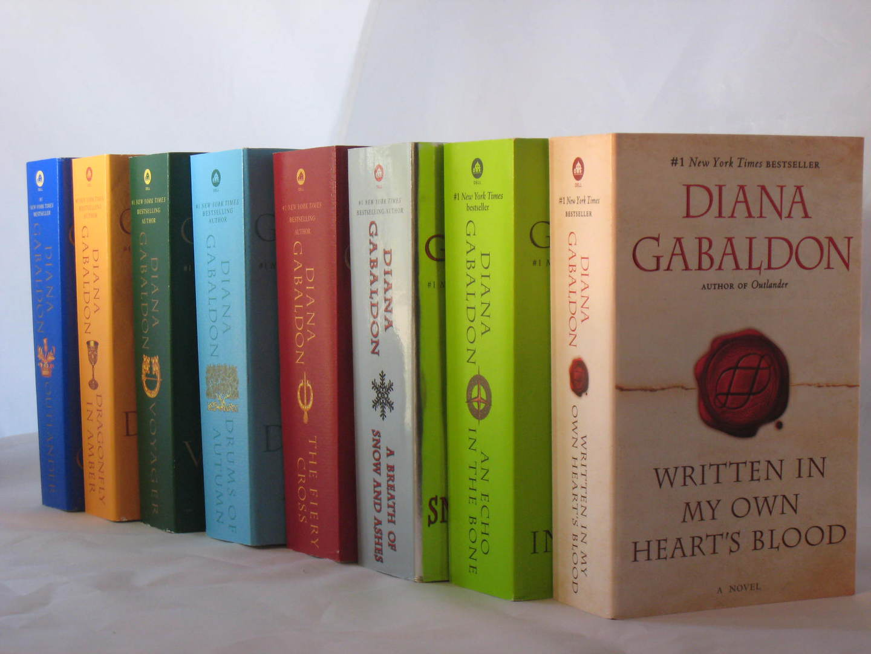 La saga letteraria di Outlander di Diana Gabaldon