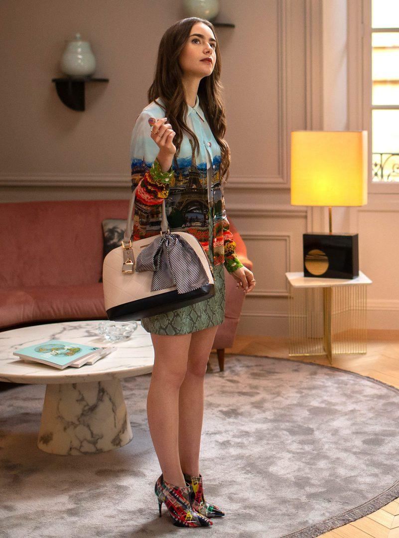 Emily in Paris: gli outfit più amati della nuova serie Netflix
