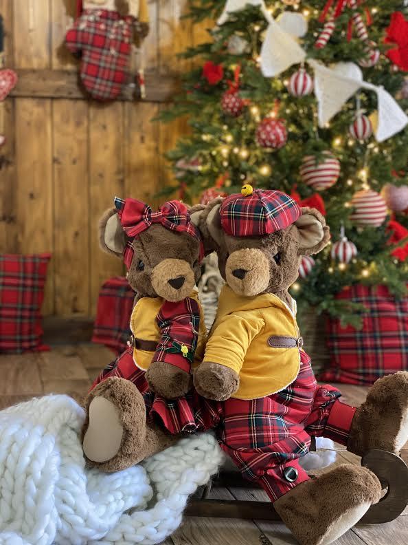 La bottega dell'orso: favole cucite con pezzi di amore e stoffa