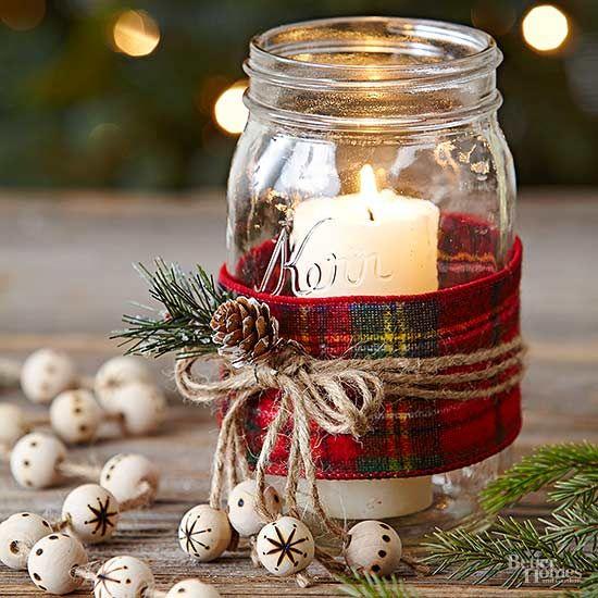 Jar Christmas Crafts: un'idea da regalare (o da tenere per te)