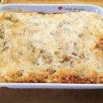 Lasagna con zucca e radicchio rosso