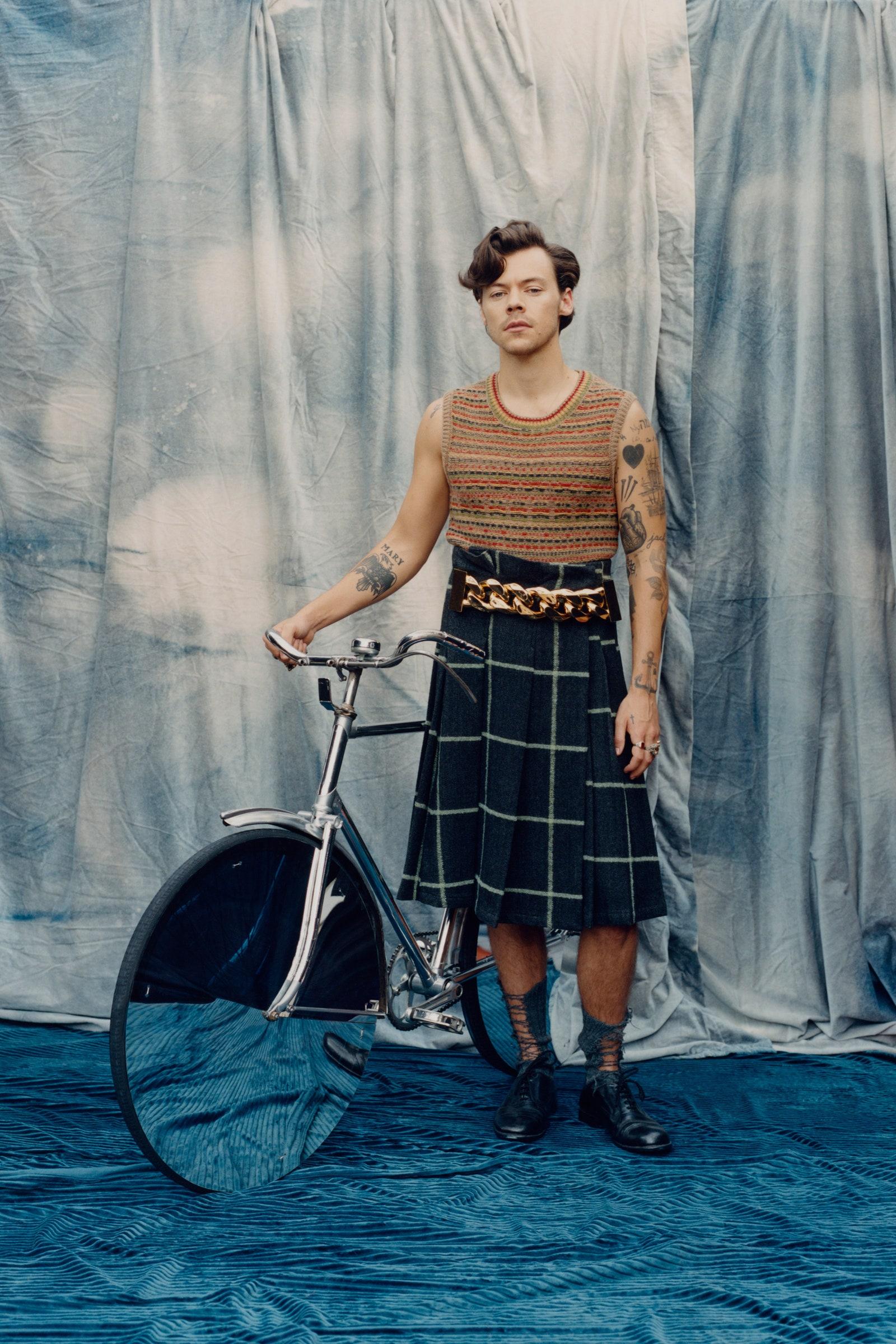 Harry Styles x Vogue America