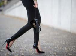 Leggings con le staffe- picture