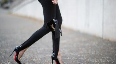Leggings con le staffe- picture