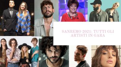 artisti sanremo 2021