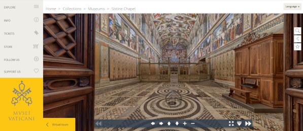 Visite virtuali ai musei