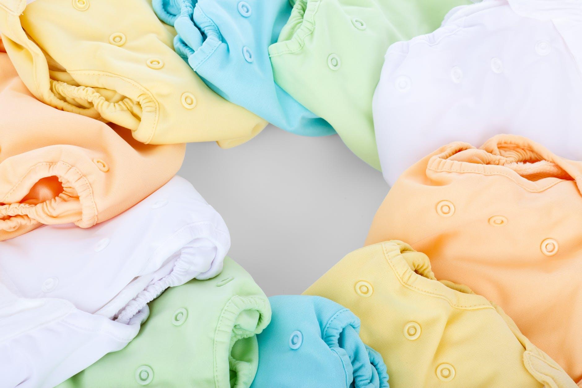 Pannolini sporchi lavabili