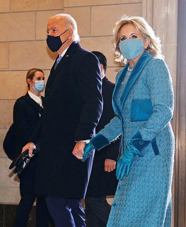 Outfit dell'insediamento di Joe Biden - jill biden