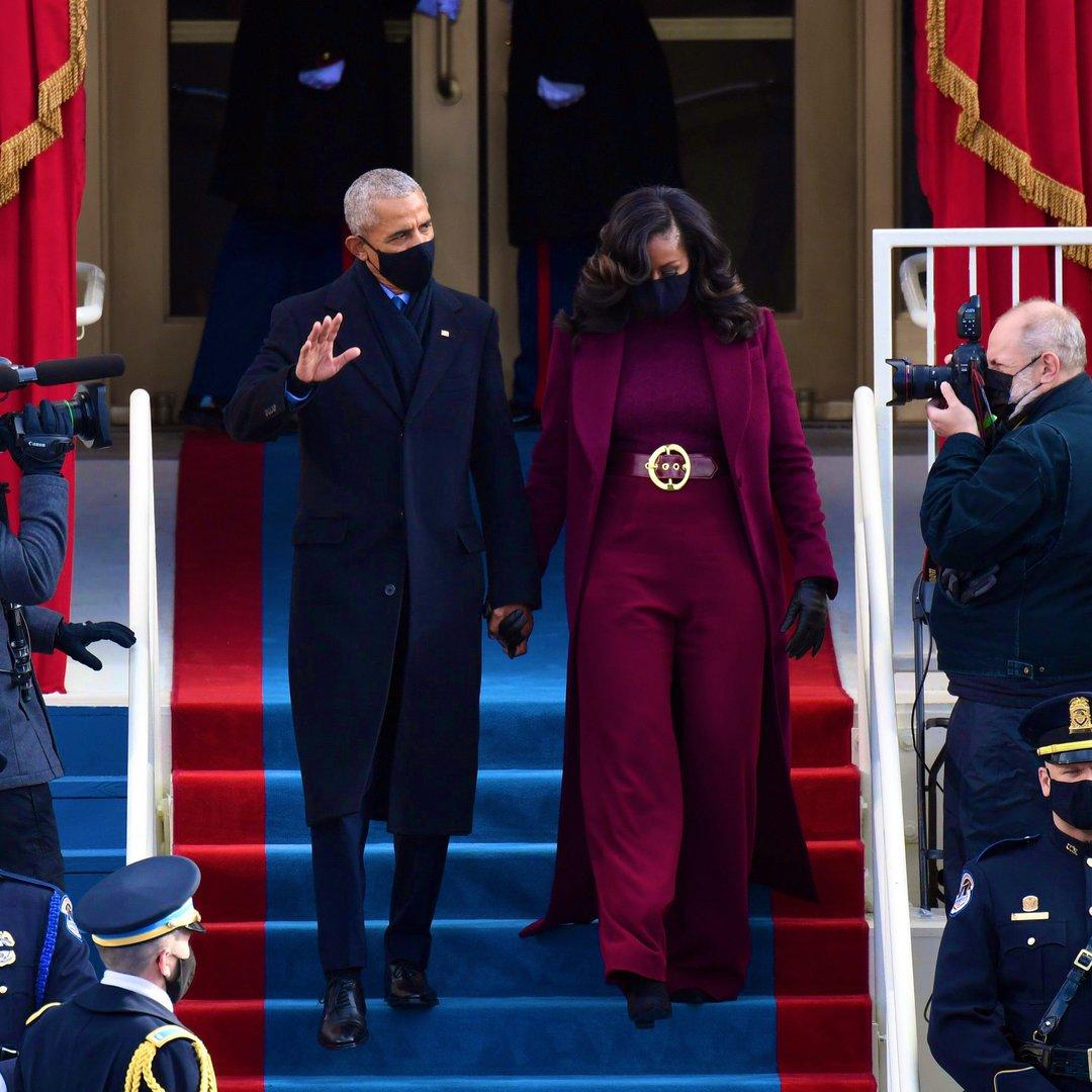 outfit dell'insediamento di joe biden - obama