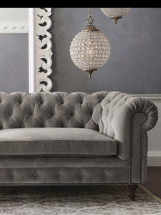 I divani in velluto