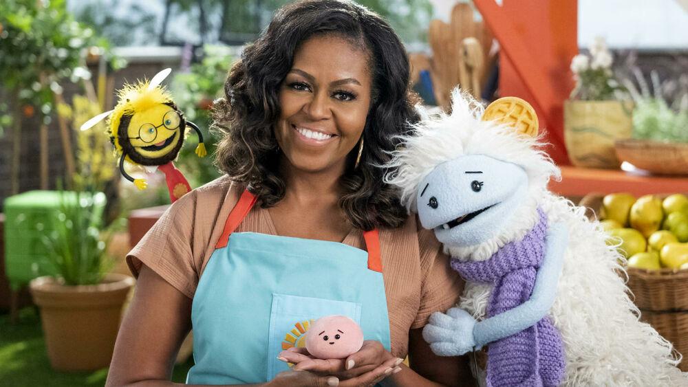 Waffles + Mochi con Michelle Obama su Netflix