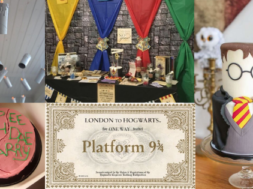 festa a tema harry potter