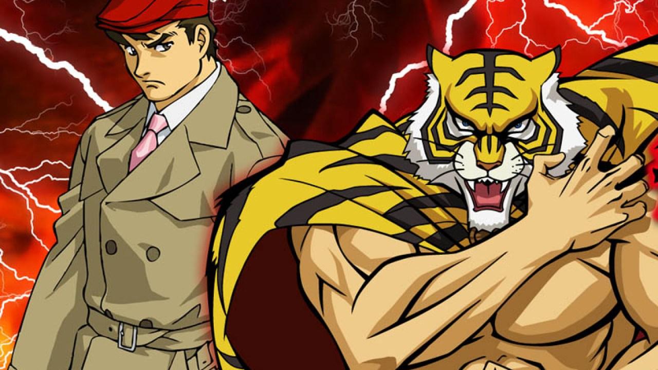 L'uomo tigre - cartoni animati a tema sportivo