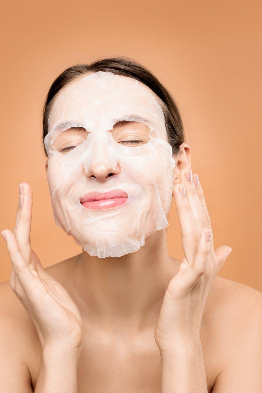 maschere viso tessuto