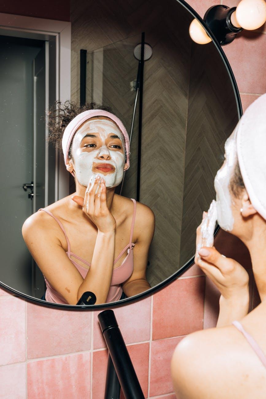maschere viso in crema