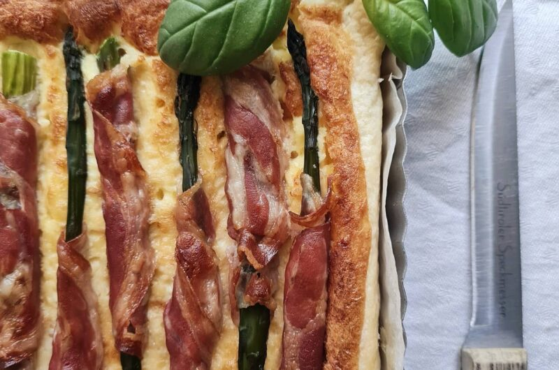 Quiche asparagi e pancetta