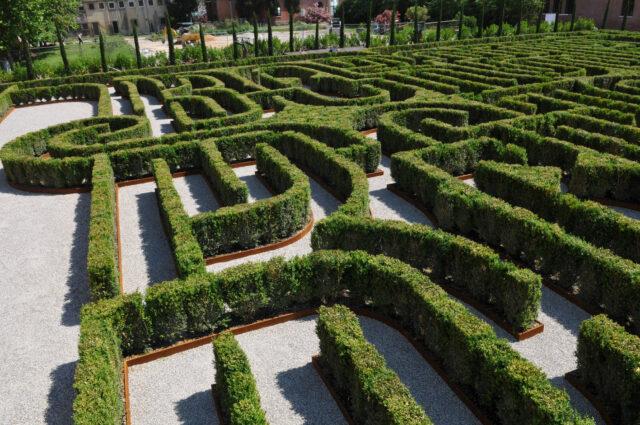 Giardini con Labirinti in Italia