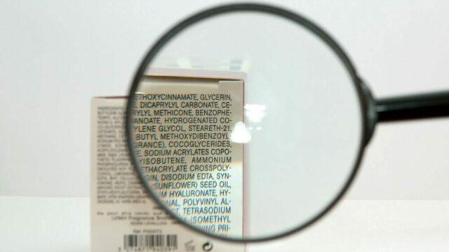 Etichette Cosmetici