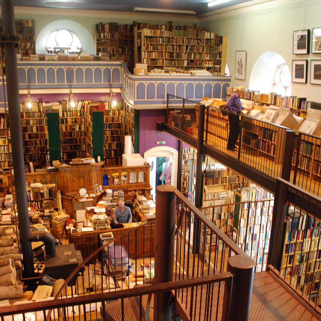 Libreria di Leakey a Inverness, Scozia