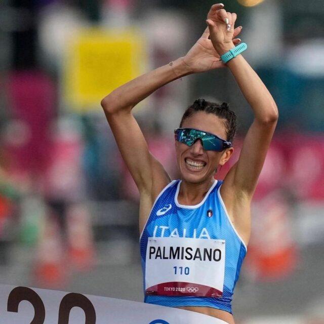 Antonella Palmisano, oro nella marcia 20 km