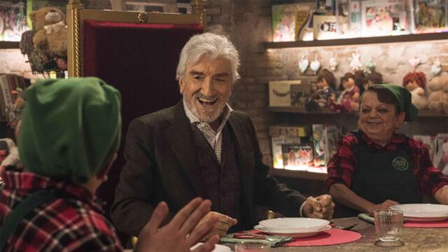 Gigi Proietti IO SONO BABBO NATALE, dal 14 ottobre al cinema