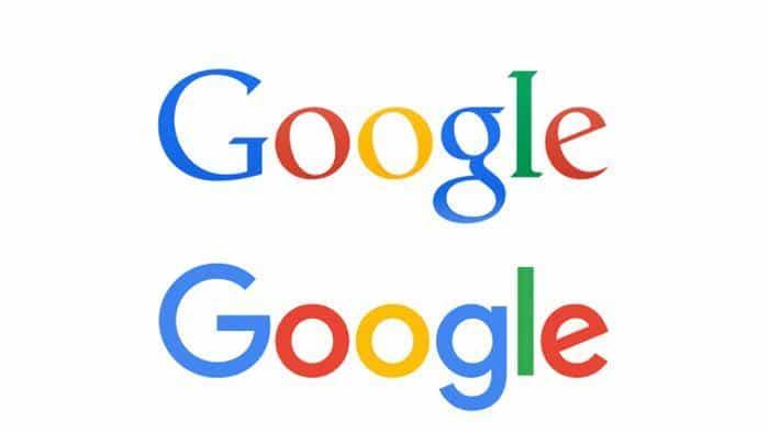 comparazione logo google