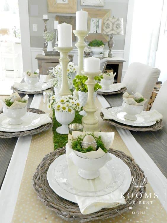 tavola di Pasqua