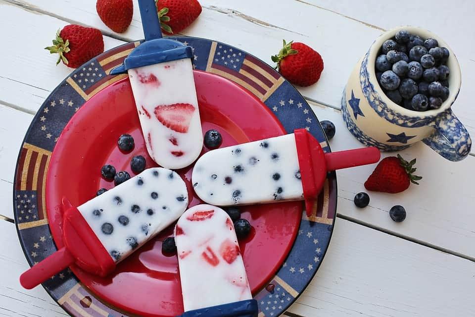 Ghiaccioli allo yogurt