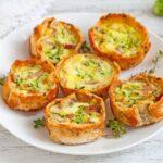 mini quiche di zucchine