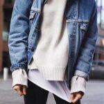 giubbino in jeans