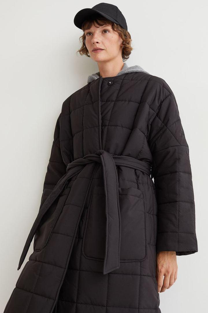 cappotto trapuntato