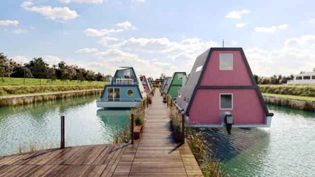 case sull'acqua in Italia