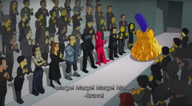 I Simpson x Balenciaga